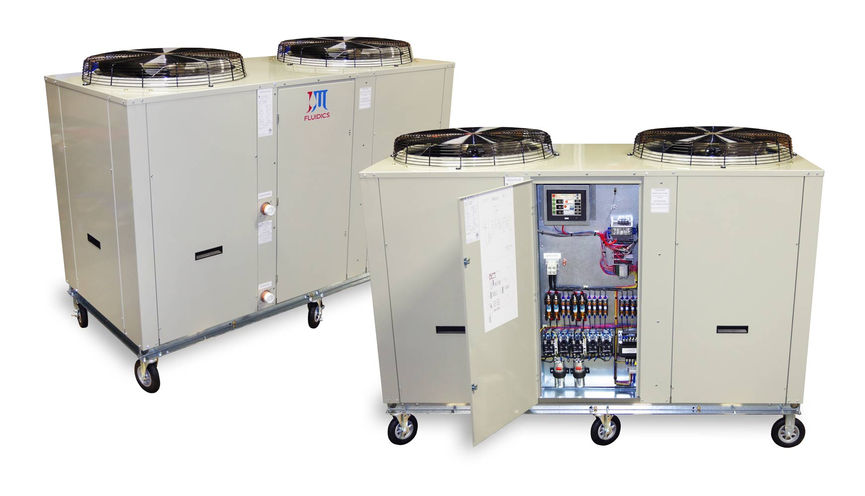 Ice Rink Chillers by J&M Fluidics, Inc.